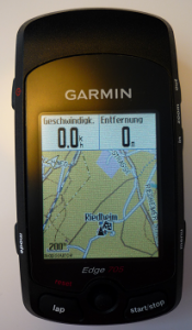 Garmin Edge 705 Frontal